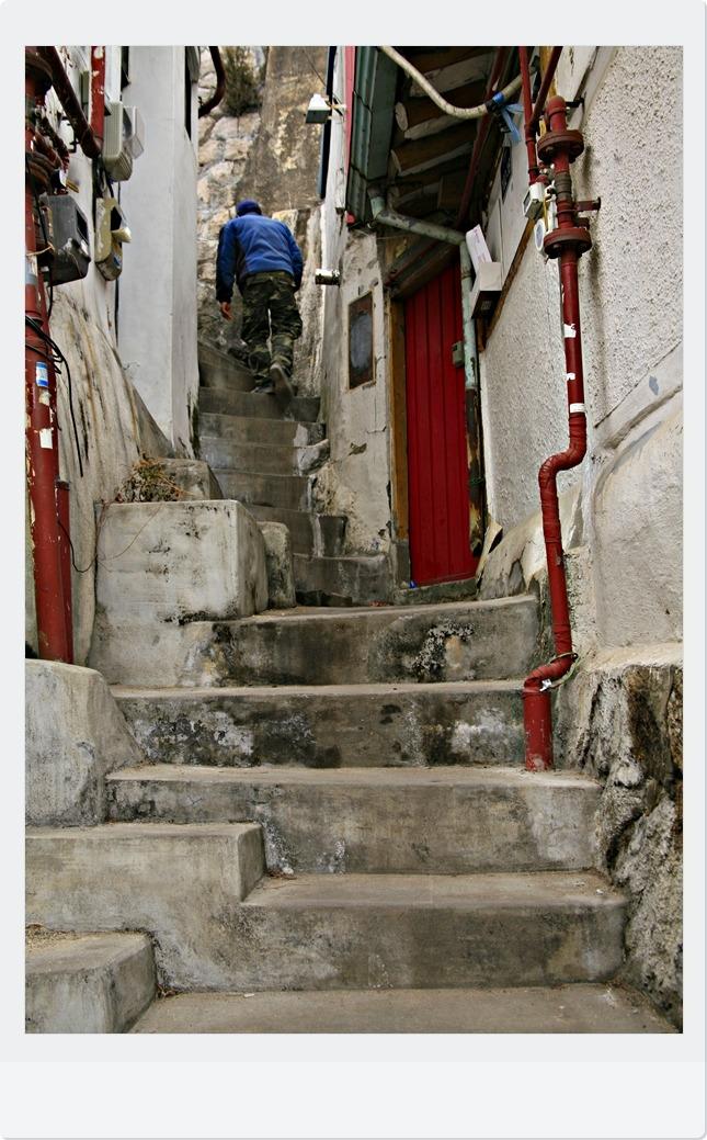 전통과 현대가 만나는 거리, 북촌 한옥마을에서...