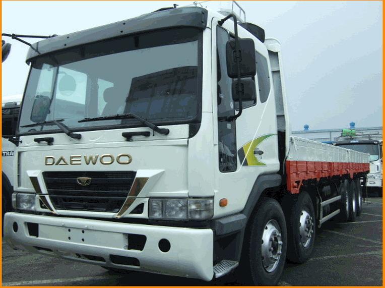 중고대형화물차매매-중고 대우트럭 25톤카고트럭 2002년03월식을 판매합니다,중고25톤화물차 가격/시세
