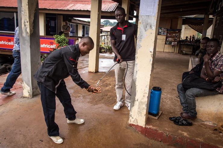 에볼라 바이러스/아프리카풍토병