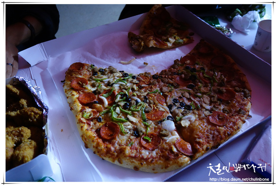 대전시 장평보유원지. 노루벌에서 피자 먹고오기