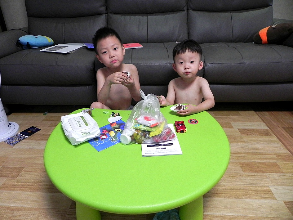 윤동욱군의 6번째 생일날