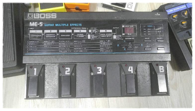 빈티지 멀티이펙터 BOSS ME-5