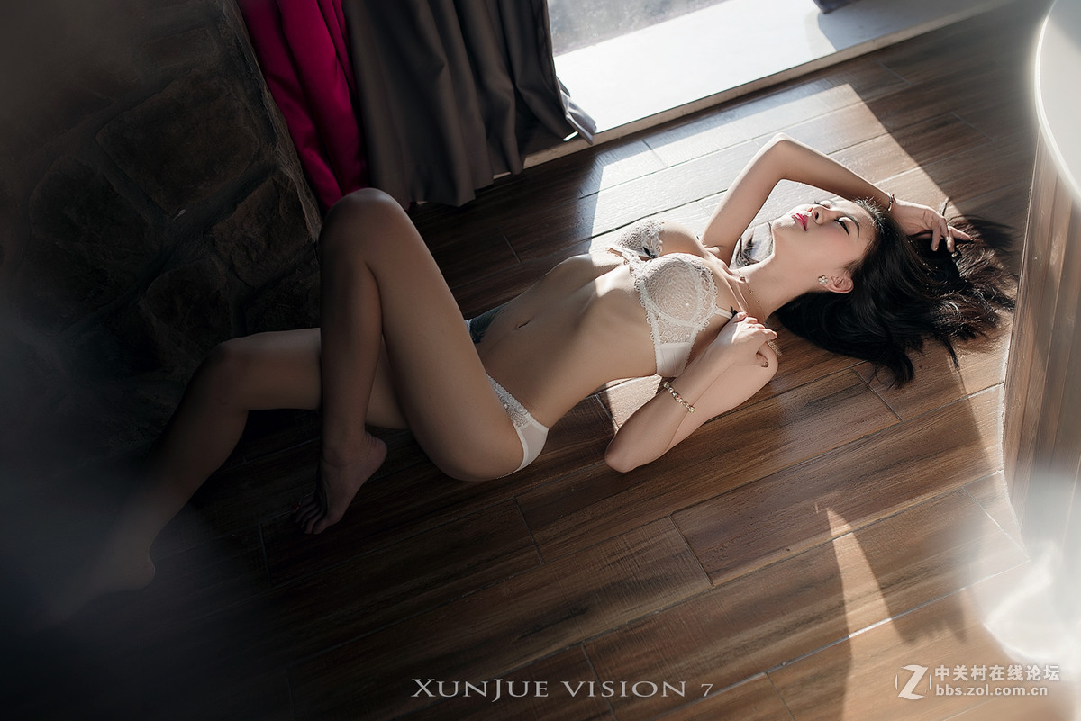 hot Chinese girl in lingerie